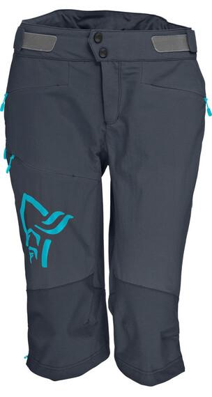 Norrøna W's Fjørå flex1 Shorts Cool Black